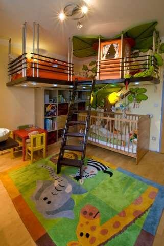 Kinderzimmer Mit Baumhaus Jacquemeaux S Room Kids Bedroom