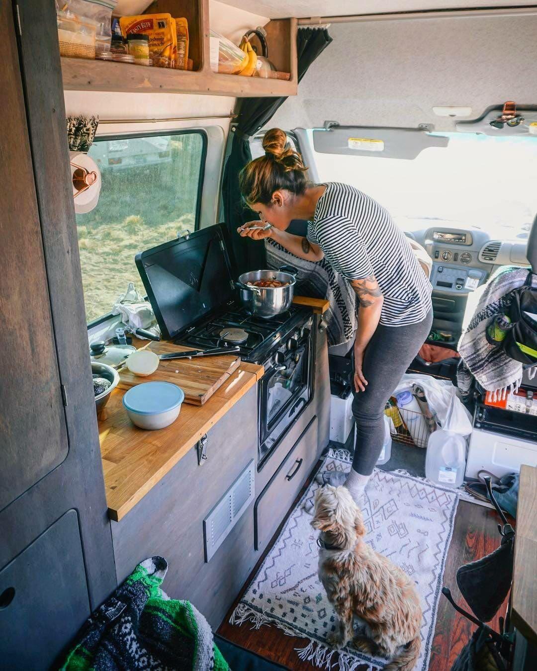Camping Portable Oven Review | DIY Building a Van | Van life