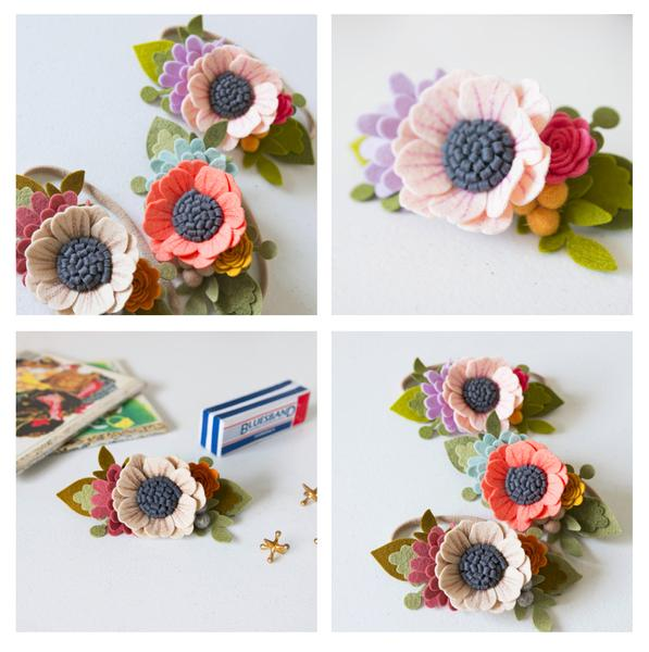 DIY Felt Flower Headband - Instagram Live