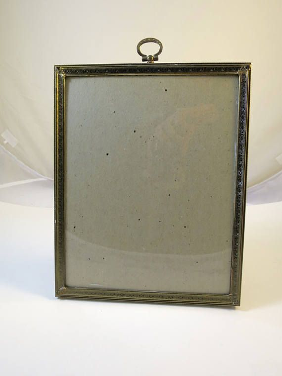 Vintage Metal Photo Frame 8 x 10 inch Antique Gold Finish Hollywood ...