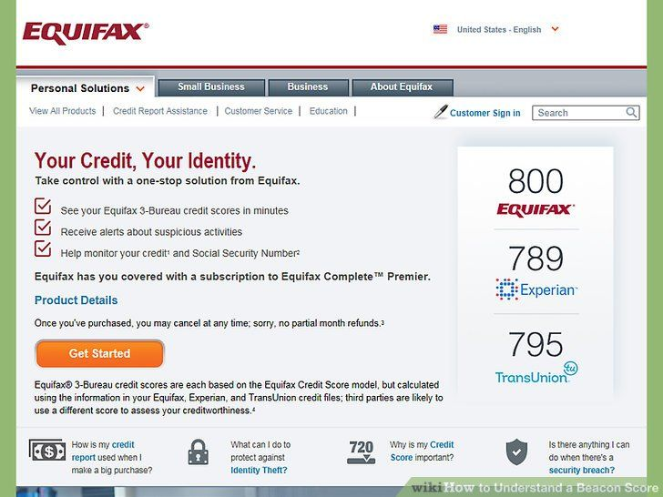 Equifax Credit Report >> From Equifax Credit Score Credit Bureaus Equifax Credit