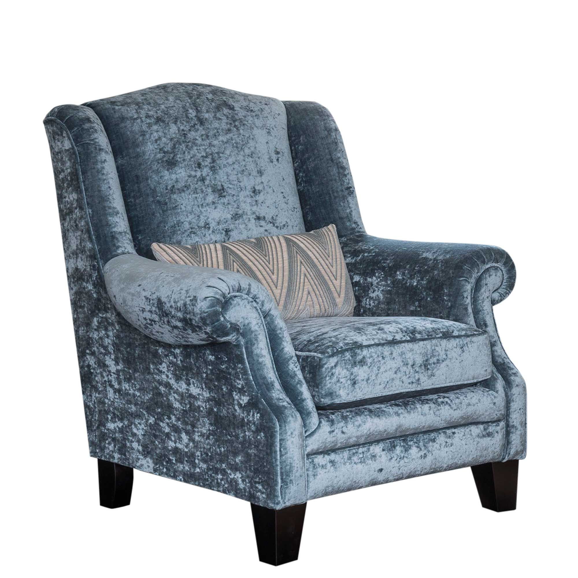 The Lassington wing chair is a great way to inject additional personality to your living space with a bold colour and also helps tie your colour scheme together.