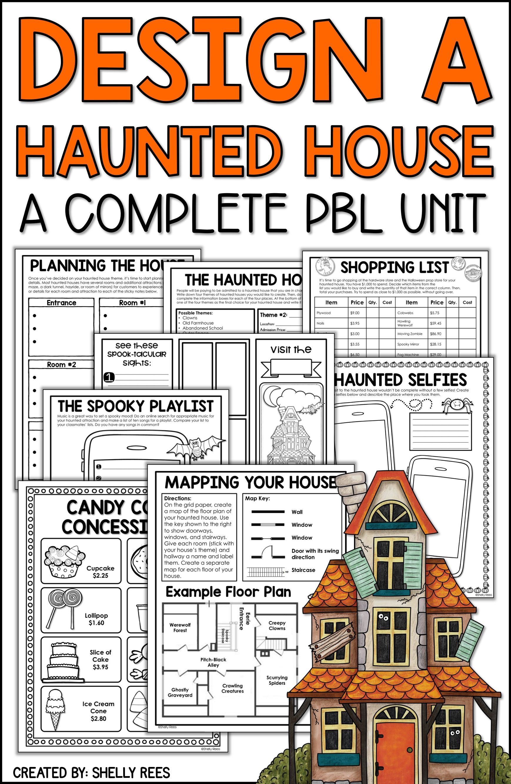 Halloween Project Based Learning For Math And Reading For
