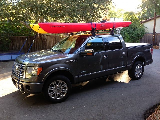 Looking For A Kayak Rack For The Truck Ford F150 Forum Community Of Ford Truck Fans Kayak Rack For Truck Ford Trucks F150 Kayak Rack