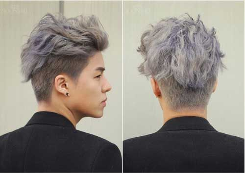 Asian Men Hairstyle Dyed Hair Men Men Hair Color Mens Hair Colour