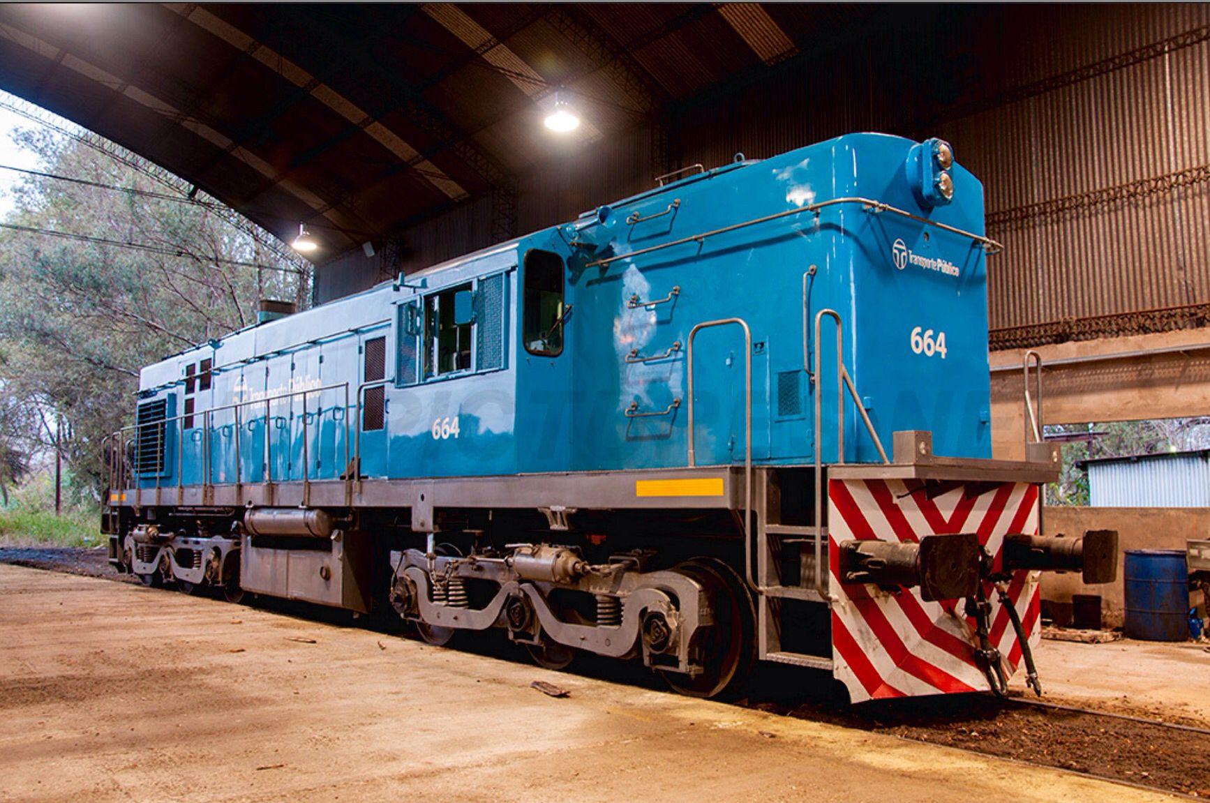 Trenes Argentinos,   Locomotive: ALCo DL 535 T, Location: Buenos Aires, Argentina, Locomotive #: D664