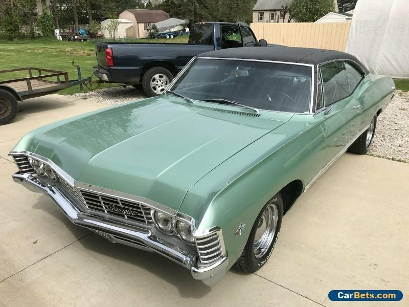 1967 Chevrolet Impala Impala Fastback Chevrolet Impala Forsale
