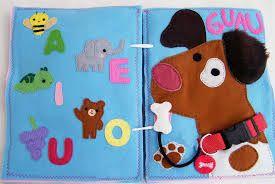 Resultado de imagen para quiet book para niño de 1 año