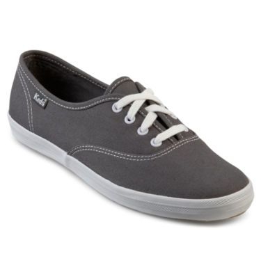 f360d31958a7 Keds® Champion Canvas Lace-Up Sneakers - JCPenney