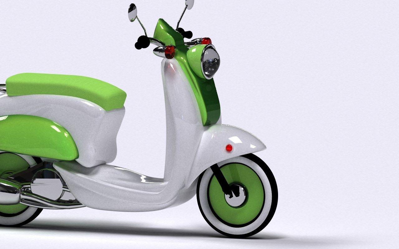 lambretta scooter themed, 142 kB - Lieven MacDonald