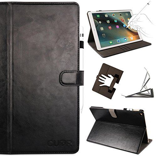 Ipad Pro 12.9 Case With Pencil Holder Entrancing Ipad Pro Case In Black Genuine Leathercuvrdesigner Protector 2018