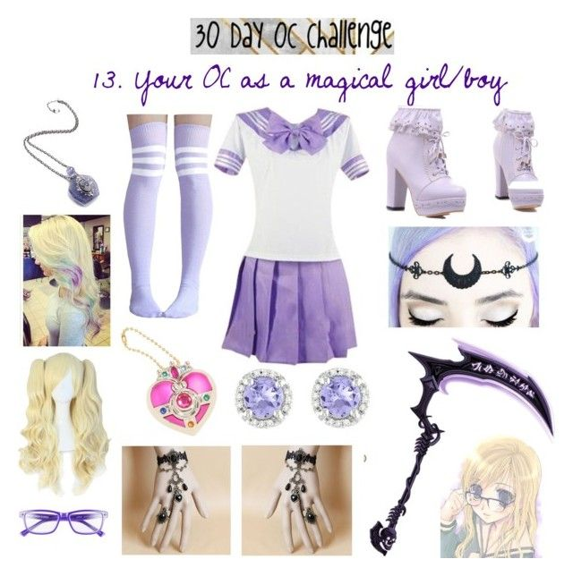 30 Day OC Challenge/Day 13 by fashion-anime-animals-reading on Polyvore featuring polyvore fashion style Ice Corinne McCormack clothing