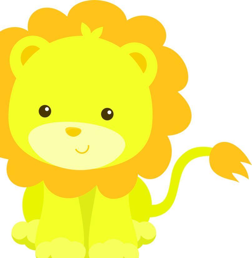 Imagenes De Leones Para Ninos De Colores Animales Bebes Animados