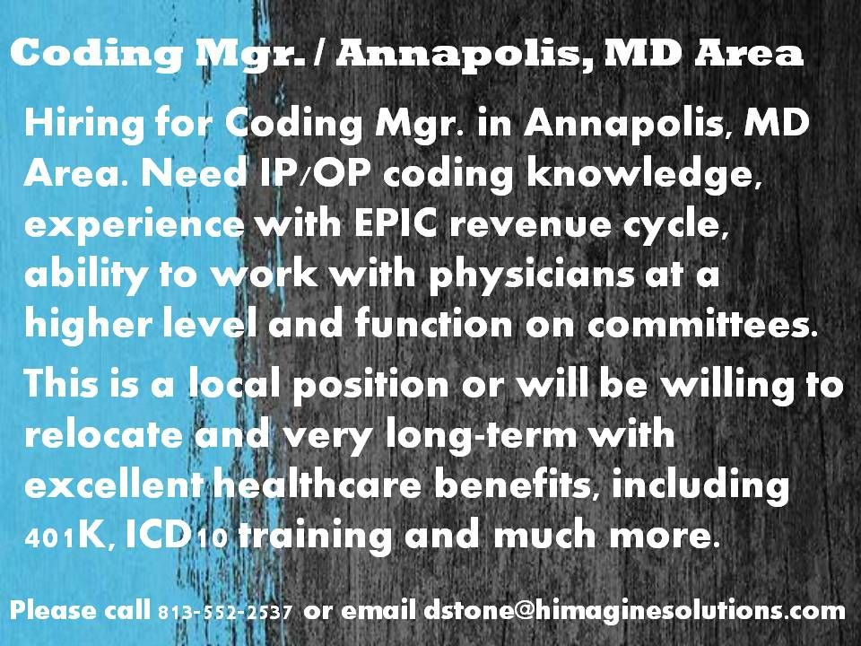 Coding manager medical coding jobs coding jobs