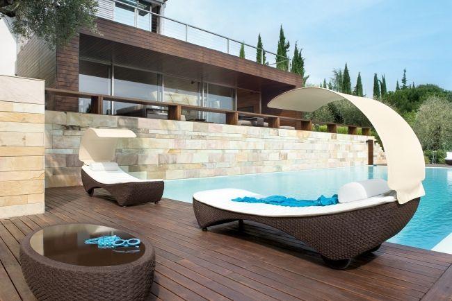 Rattan Lounge Möbel für Terrasse und Garten von Roberti Rattan