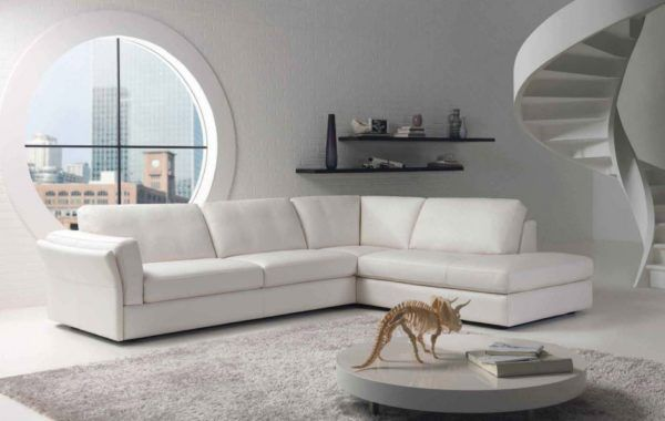 Unique And Compelling Round Windows For Every Room White