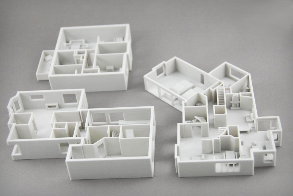 Image result for 3d printed architectural model (With