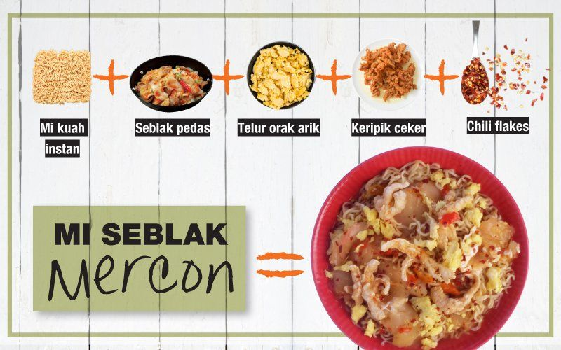 Resep Mi Seblak Mercon Resep Resep Makanan Makanan