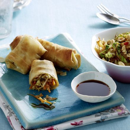 Photo of Oven Spring Rolls Recipe DELICIOUS