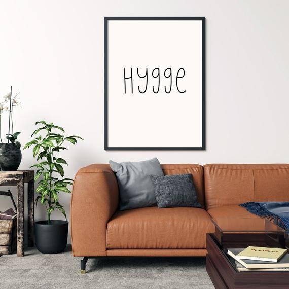 hygge printable wall art high quality chic decor on hygge wall decor id=13383