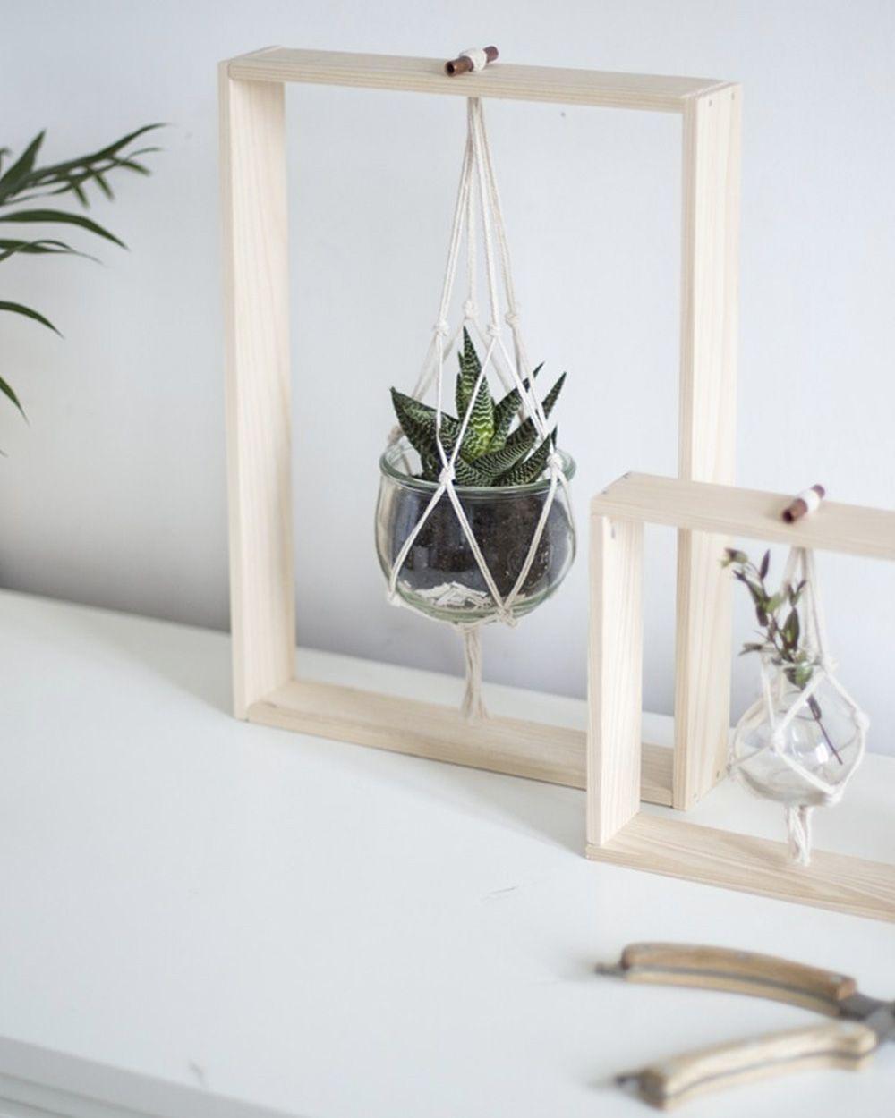 10 astuces diy pour suspendre vos plantes dekoracje. Black Bedroom Furniture Sets. Home Design Ideas