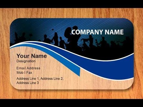 How To Make A Visiting Card Fast And Easy Bangla Tutorial Adobe Illust Business Card Design Card Design Online Design