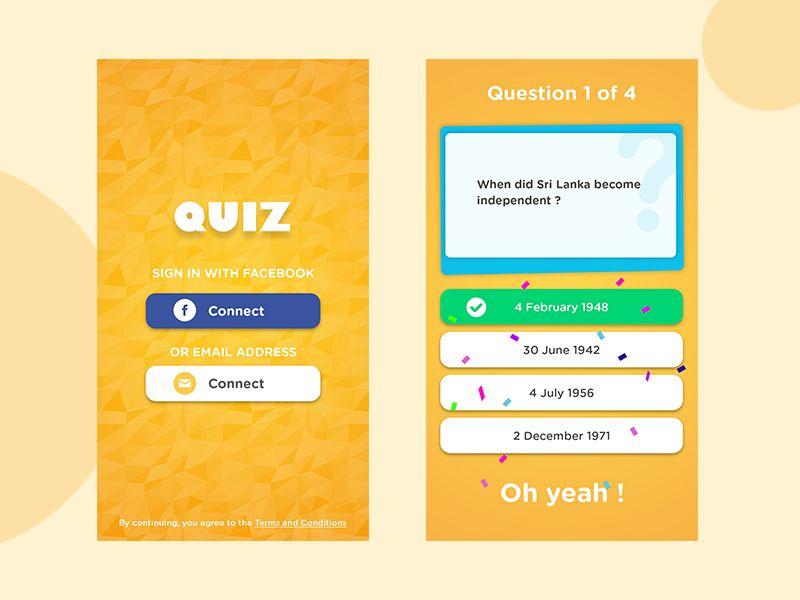 Pin On Quiz App