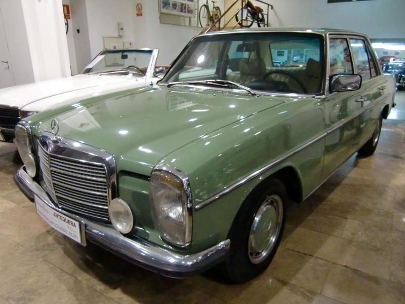 Antequera classic mercedes benz 240d 3 0 w115 1975 for Mercedes benz w115 for sale