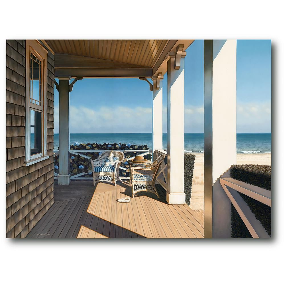 Courtside Market Nantucket Shore Nature Gallery Wrapped Canvas Wall Art 20 In X 24 In Pol1079 20x24 The Home Depot In 2021 Nantucket Wall Canvas Framed Art Prints