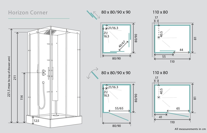 Shower Door Sizes Standard Bathroom Dimensions Shower Doors