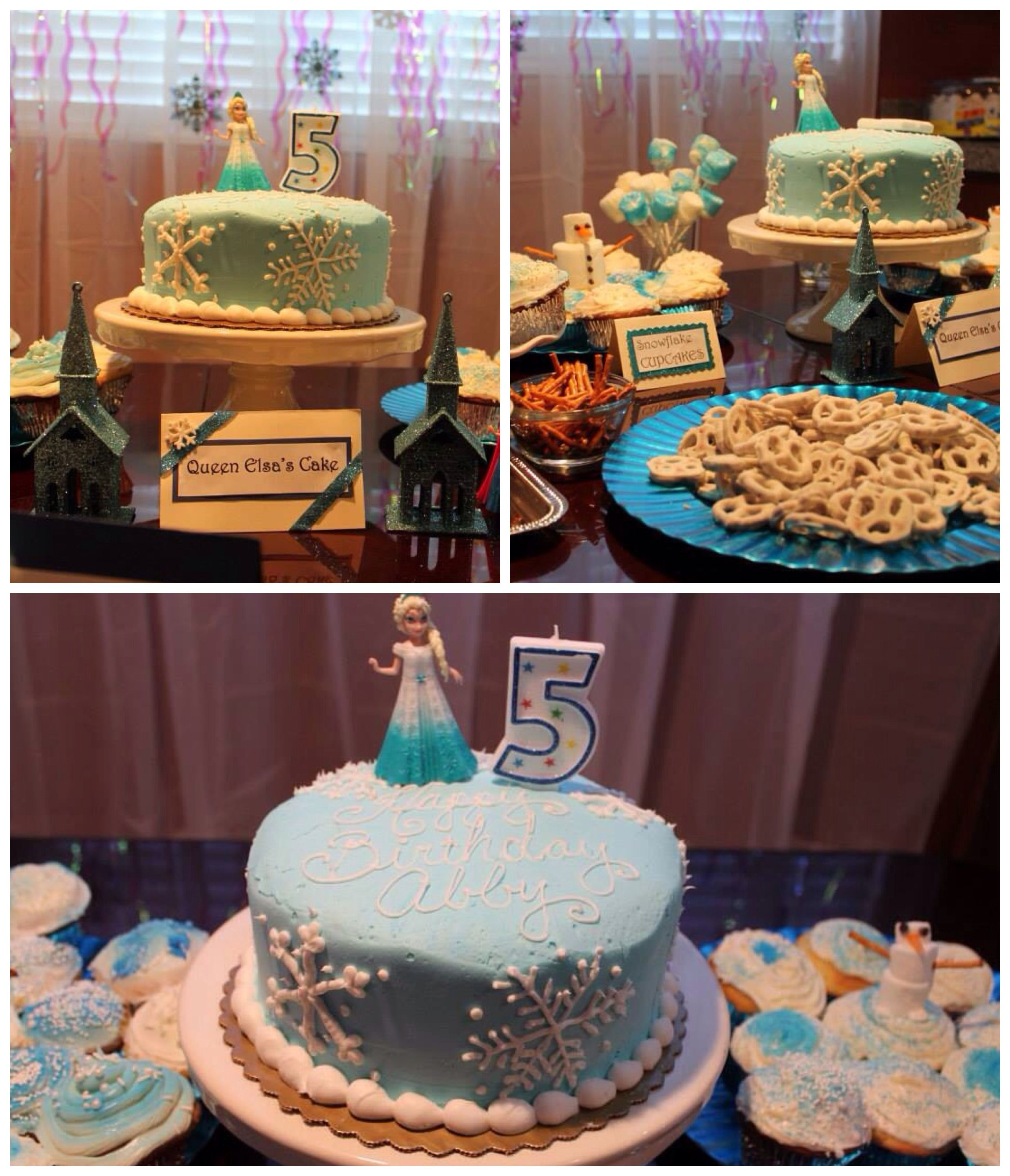 Frozen birthday cake Made to order at Smiths costs less than