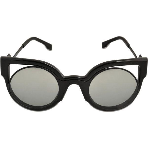efd48fc48bce Fendi FF 0137 S sunglasses ( 427) ❤ liked on Polyvore featuring ...