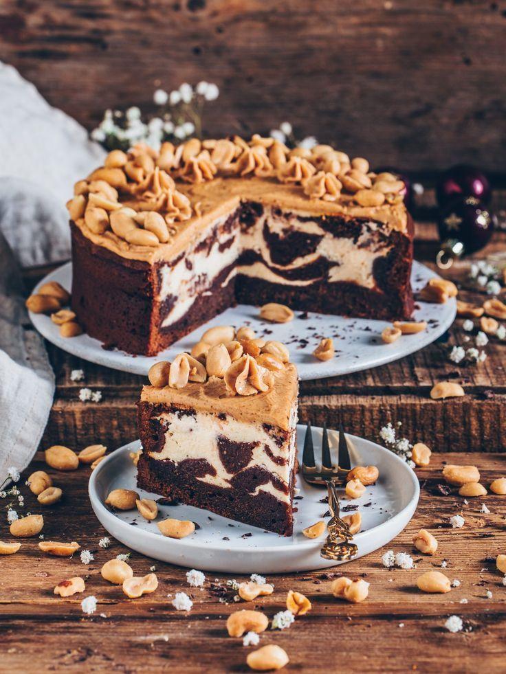 Brownie-Käsekuchen (einfach, vegan) – RECIPES // vegan baking