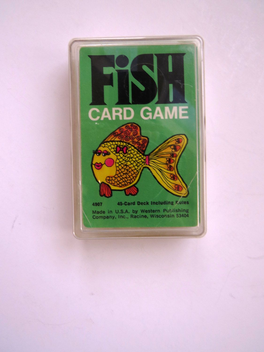Go Fish Card Game Playing Cards by Western Publishing