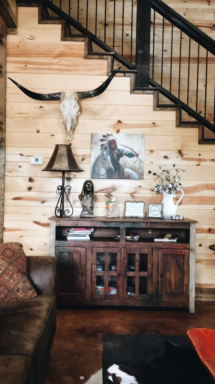 Western Decor Ideas Ranch Style Country Decor In 2020 Western Home Decor Ranch House Decor Western Living Rooms
