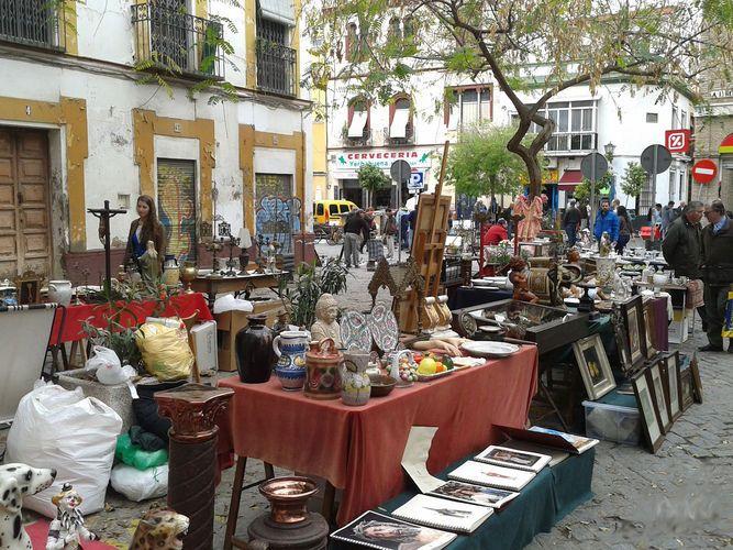 Sevilla mercadillo de los jueves la calle feria del - Mercadillos sevilla domingo ...