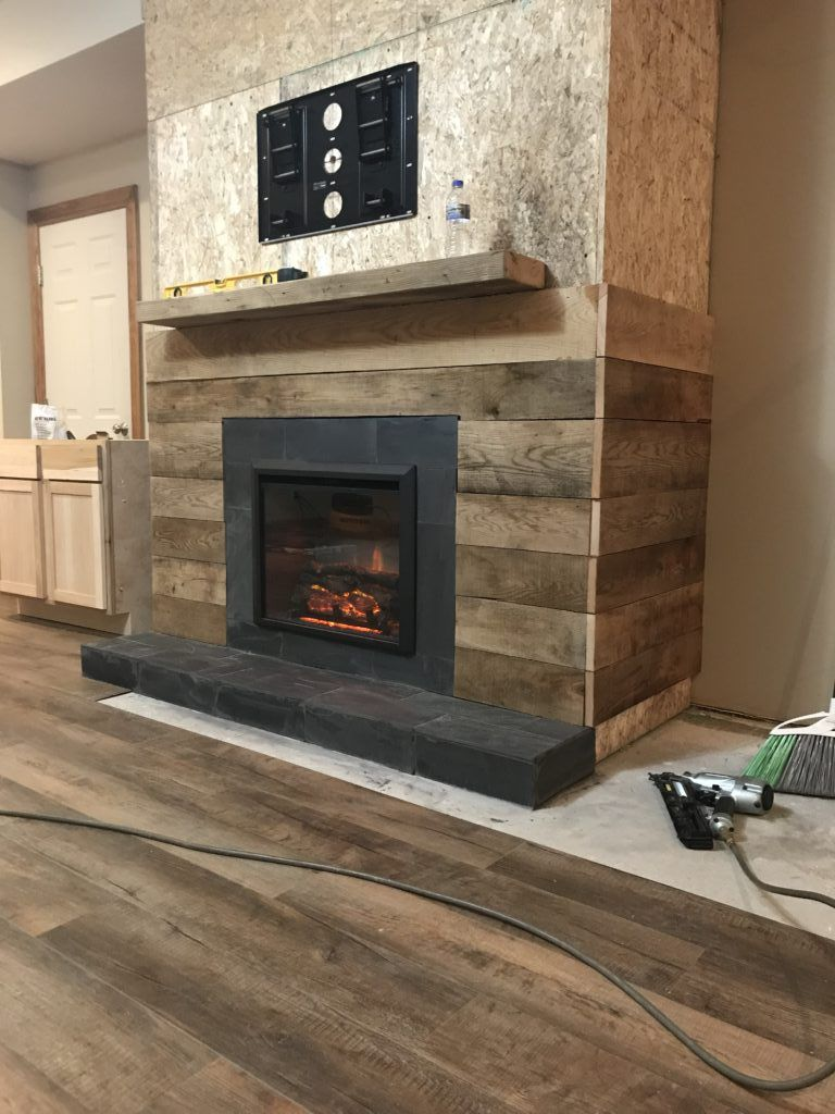Building A Rustic Wood Fireplace Wood Fireplace Rustic