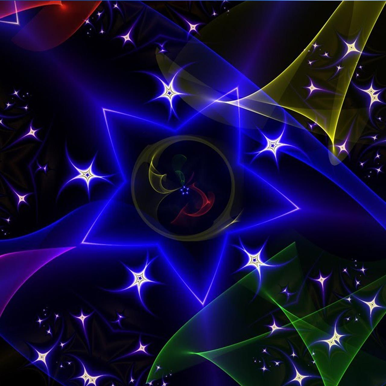 Colorful Stars | Estrella, Star Background, Colorful, Colores ...