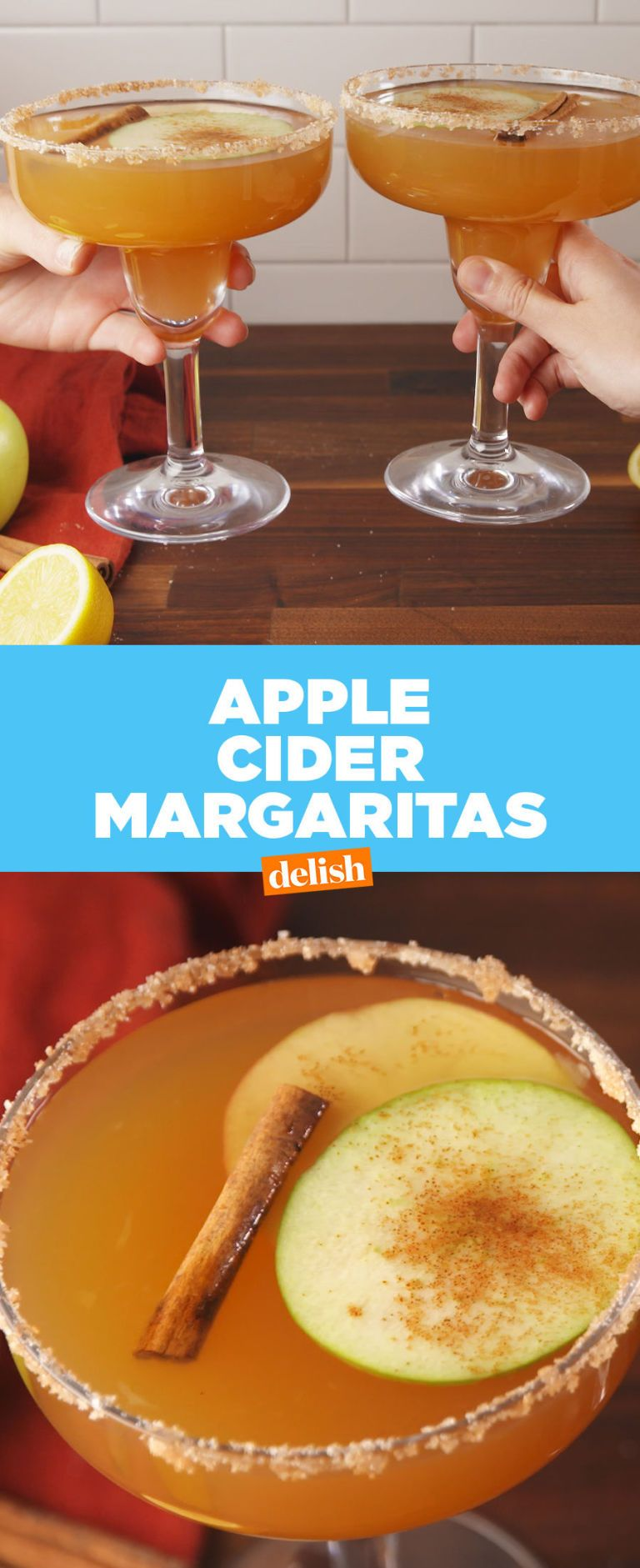 Apple Cider Margaritas Are The Ultimate Fall Drink