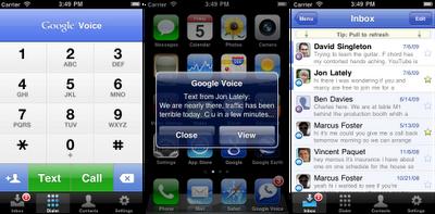 Google Voice for iPhone Google Voice Blog Google voice