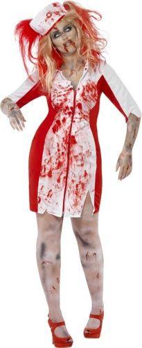 Disfraz zombie enfermera mujer Halloween