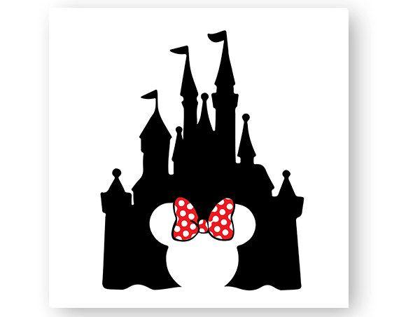 d8d979674 Disney, Castle, Bow, Mickey, Minnie, Mouse, Head, Ears, Digital ...