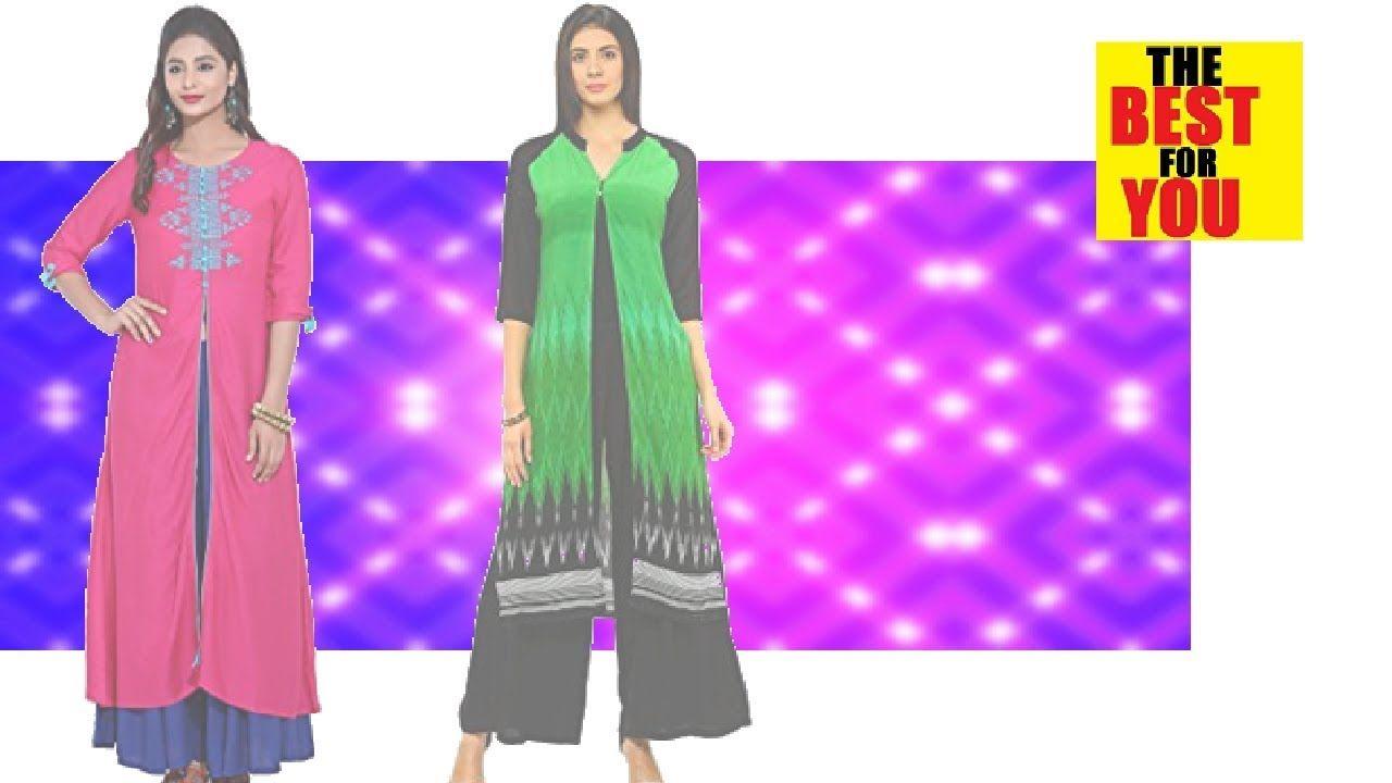 Ladies Kurti Kurta indian dresses in amazon shopping online dresses ...