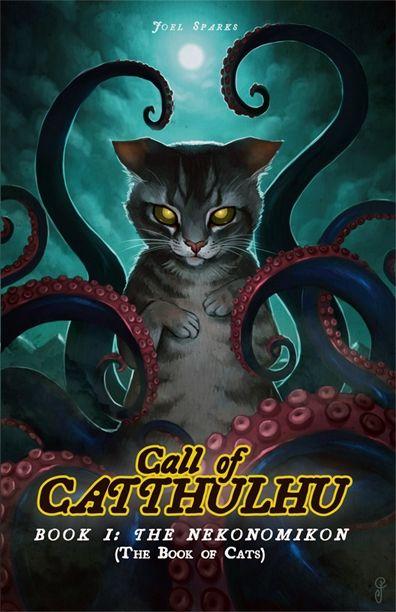 Call Of Catthulhu, Book I: THE NEKONOMIKON, the Book of Cats - Catthulhu.com | DriveThruRPG.com