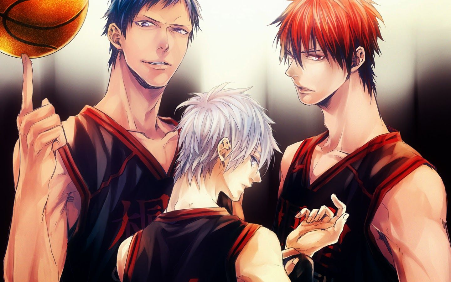 Kuroko And Kagami Wallpaper Desktop Background Hx6
