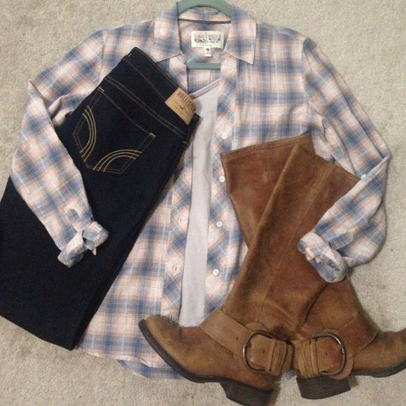 girl krazy plaid shirt