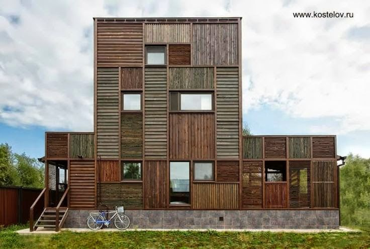 Casa Volga obra premiada original e inspiradora - Arquitectura Peter Kostelov kostelov.ru