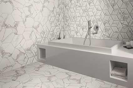 anais white hexagon decor tiles   hexagon decor, hexagon