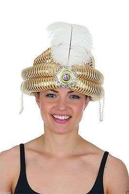 Gold Shimmer Turban Hat The Fashion Bible
