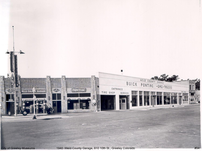 1940 Weld County Garage 810 10th St Greeley Greeley Colorado Tyre Shop